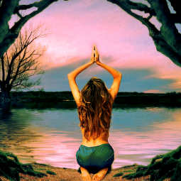 Meditation, breath coaching, Stress reduction, peace