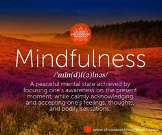Enhance peaceful awareness and relaxation