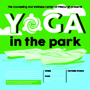 Free Outdoor Yoga Events Pittsburgh