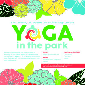 Free Outdoor Yoga Wellness Events Pittsburgh