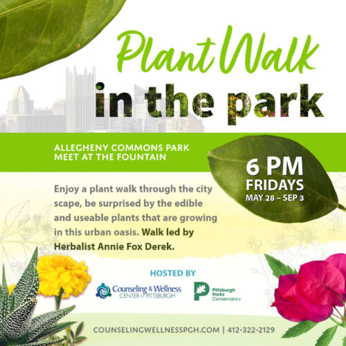 plant walk Pittsburgh